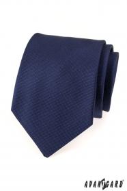 Dunkelblaue Avantgard Krawatte