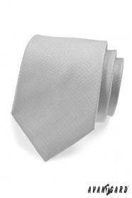 Hellgraue Krawatte