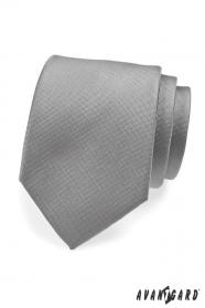 Graue formelle Krawatte