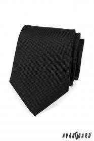 Krawatte SLIM schwarz matt