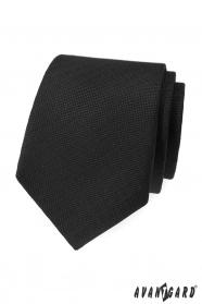 Schwarz strukturierte Avantgard Krawatte