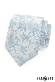 Herren Krawatte blauer Motiv