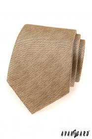 Herren Krawatte beige Avantgard