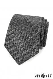 Schwarze graue Avantgard Krawatte