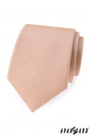 Pulver rosa farbene Krawatte mit Punkten