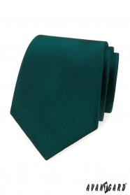 Grüne Krawatte mit gestricheltem Muster