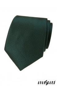 Dunkelgrüne Krawatte