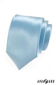 Herren Krawatte eisblau