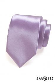 Krawatte glatt lila