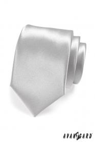 Silberne Krawatte