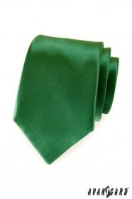 Grüne einfarbig Avantgard Krawatte