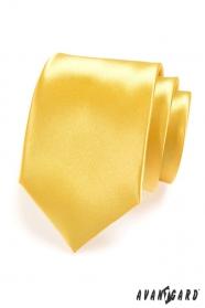 Krawatte   Gelb Glanz