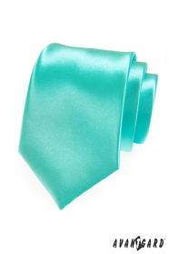 Krawatte Minze mit Glanz
