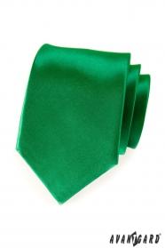 Krawatte dunkelgrün smaragdgrün