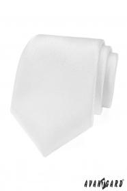 Weiße festliche Krawatte strukturiert