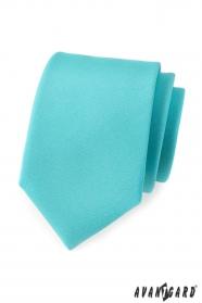 Matte türkise Krawatte für Männer