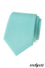 Matte Krawatte Minze Farbe