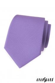 Hellviolette, matte Krawatte