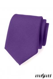 Dunkelviolette Herren Krawatte