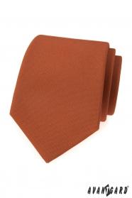 Zimtbraune Krawatte