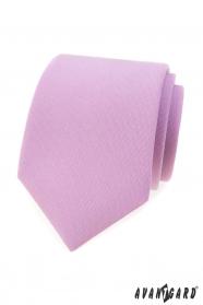 Matt Krawatte in lila Farbe