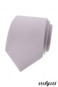 Hellgraue Herren Krawatte