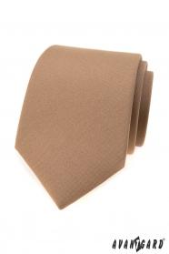 Hellbraune Krawatte für Herren