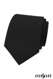 Mattschwarze Krawatte