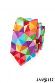 Bunte Krawatte SLIM