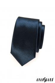 Krawatte SLIM für Herrren blue navy