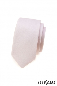 Schmale Krawatte Avantgard - Pulverfarbe