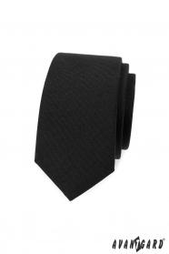 Schwarze, schmale Krawatte