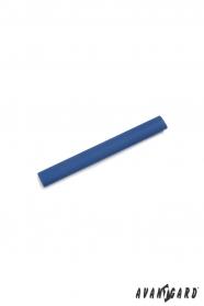 Blaue Krawattenklammer
