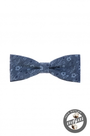 Baumwolle Herren Fliege Blau jeans