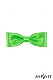 Herren Fliege  grün Glanz