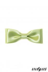 Klassische Herren Fliege Lime grün