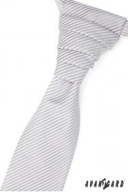 Hochzeitskrawatte mit leichem glänzendem Streifen