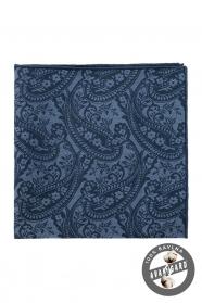 Baumwoll-Einstecktuch Paisley-Muster