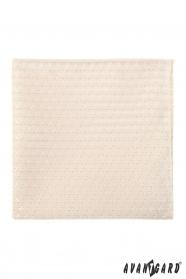 Ivory Einstecktuch für Herren mit Glanz-Muster