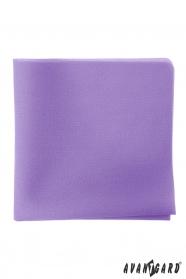 Herren Einstecktuch in lila Farbe