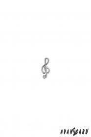 Revers-Anstecker mit Geigenschlüssel Motiv