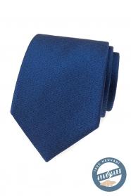 Elegante blaue Seidenkrawatte