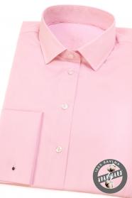 Rosa Damen Hemd mit umschlagmanschette