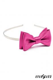 Mädchen Stirnband - Fuchsia Farben