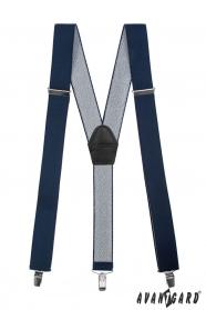 Breite einstellbare Hosenträger dunkelblaue Farbe
