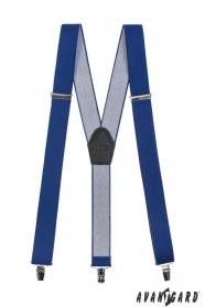 Königsblaue Hosenträger Y-Form 3-Clip-Halterung