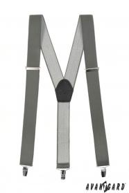 Graphit Hosenträger Y-Form 3-Clip-Halterung