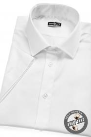 Weißes SLIM Hemd Kurzarmhemd