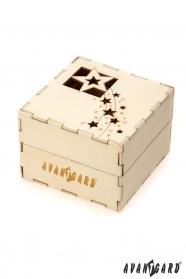 Holz Geschenkbox Weihnachten