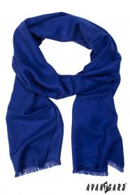 Blauer Herren-Schal